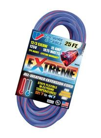 US Wire 99025 12/3 25-Foot SJEOW TPE Cold Weather Extension