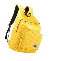 UZZO NEW Arrial Teens Students School Bags,Unisex Polka Dot