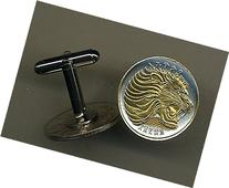 Unique 2-Toned Gold on Silver Ethiopia Lion, Coin