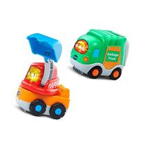 VTech Go! Go! Smart Wheels - 2-pack with Garbage Truck and