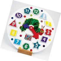 Very Hungry Caterpillar Wooden Shape Sorter Clock