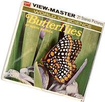 ViewMaster BUTTERFLIES - 3 Reels - 21 3D Images