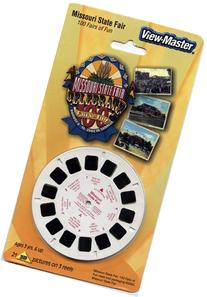 ViewMaster- Missouri State Fair - 3 Reels on Card - NEW