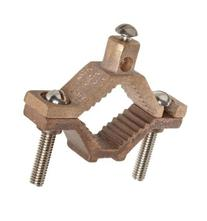 "Voltada: Ground Pipe Clamp 1-1/4 - 2"" Copper - 5 Pack"
