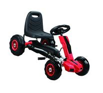 Vroom Rider Power Pedal Go-Kart Ride Ons with Pneumatic Tire