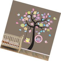 WallStickersUSA Wall Sticker Decal, Beautiful Tree with