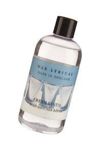 Wax Lyrical 250 ml Reed Diffuser Refill, Fresh Linen
