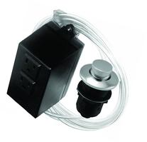 ASB-2-RB-26 Garbage Disposal Raised Button Air Switch and