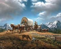 White Mountain Puzzles Beautiful for Spacious Skies - 1000