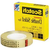Wholesale CASE of 25 - 3M Scotch Double-Sided Tape-Double-