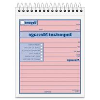 Wholesale CASE of 25 - Tops Duplicate Important Message Book