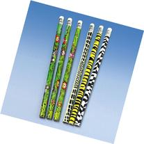 Wild Animal Pencils - Package of 12