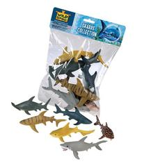 Wild Republic Polybag Sharks