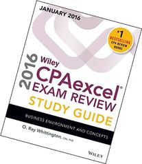 Wiley CPAexcel Exam Review 2016 Study Guide January: