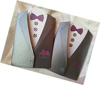 Will You be my Best Man Groomsman card- Suit Up, Groomsmen