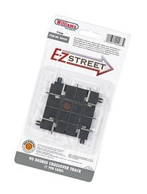 Williams by Bachmann E-Z Street 90 Degree Crossover Track 1