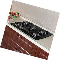 "WindMax 30"" Tempered Glass 3.3KW/h Built-in Kitchen 5 Burner"