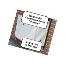 Window Air Conditioner Cover - Window/thru Wall - 2PC SET