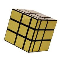 3x3 Gold Mirror Cube Magic Speed Puzzles, YKL World ABS