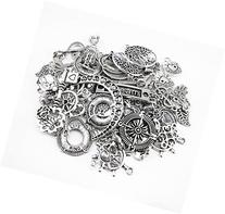 Yueton 100 Gram  Assorted DIY Antique Charms Pendant for