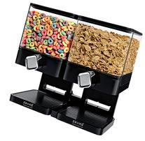 Zevro KCH-06134 Compact Dry Food Dispenser, Dual Control,