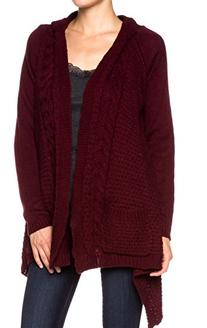 A.S Knit Sweater Cardigan with An Open Front