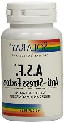 Solaray A.S.F. Anti-Stress Factors Supplement, 60 Count
