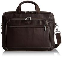 Kenneth Cole Reaction Leather Double Gusset Computer Case,
