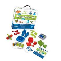 A-Ha! Brain Teaser Classroom Kit w/8 Different Challenges