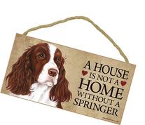 """A House Is Not A Home Without A Springer Spaniel - 5""""x10"""""""