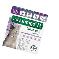 Advantage II Over 9 Lb Cat Flea Prevention and Treatment