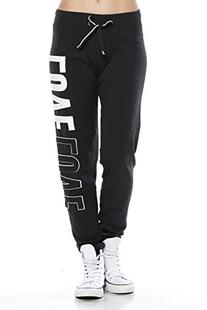 A.S Juniors LOVE Trendy 2-Tone Terrry Webbing Jogger Pants