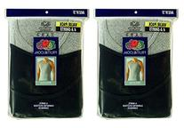 Fruit of the Loom Men's 8Pack Black & Grey A Shirts Tank