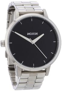 Nixon A099000 The Kensington Black Dial Stainless Steel