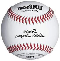 Wilson A1072 Senior Little League Series Baseball , White