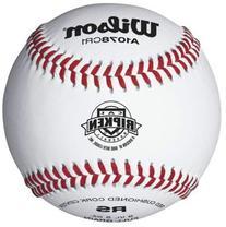 Wilson A1078 Cal Ripkin League Series Baseball , White