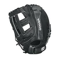 Wilson A2000 B 1st Base Fastpitch Softball Glove, Black