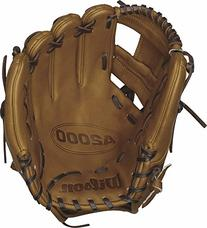 Wilson A2000 DP Infield Baseball Glove, Saddle Tan, Right