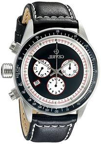 Gevril Men's A2110 Tribeca Stainless Steel Black Watch