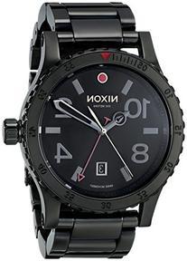 Nixon Men's A2771883 Diplomat SS Analog Display Swiss Quartz Black Watch