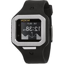 Nixon Men's A316180 Supertide Digital Quartz Black Watch