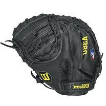 Wilson A360 Baseball Catcher's Mitt- Right Hand throw, Grey/