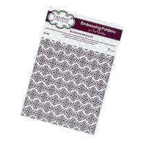 Creative Expressions A4 Embossing Folder - Blossom Brocade