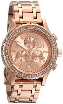 Nixon Women's A404897 38-20 Stainless Steel Rose Gold-Tone