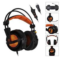 SADES A6 USB PC Gaming Headset 7.1 Surround Sound Stereo