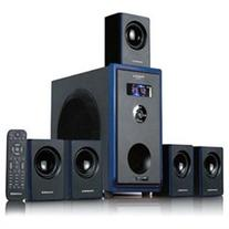 Acoustic Audio AA5102 800W 5.1 Channel Home Theater Surround Sound Speaker System with Bluetooth AA5102B