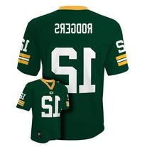 Aaron Rodgers Green Bay Packers Green NFL Youth 2013 Season
