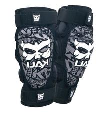 Kali Protectives Aazis Soft Tape Knee Guard, Black/Grey, X-