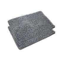 VDOMUS Absorbent Microfiber Bath Mat Soft Shaggy Bathroom