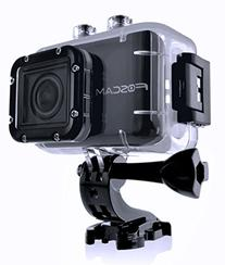 Foscam AC1080 Action Camera - HD 1080P, 12MP 3x Rapidshot,